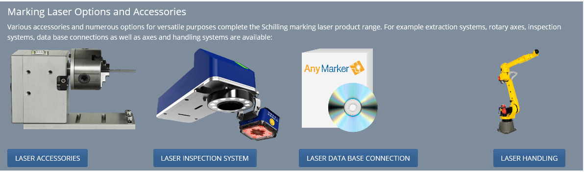 Laser marking options