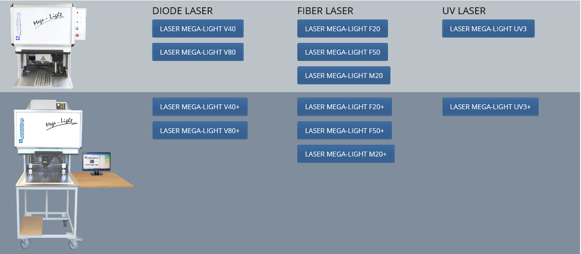 Mega-Light options